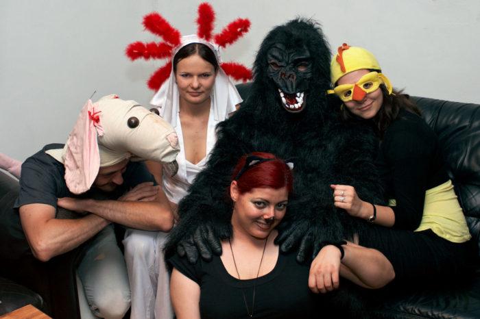 Pražská tématická párty - zvíratka [party]