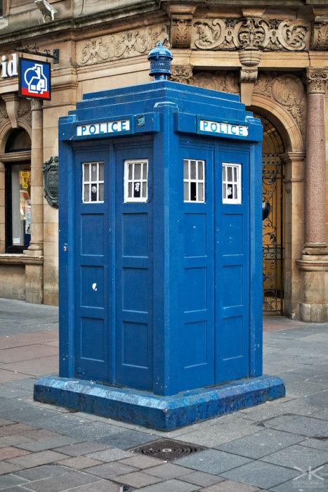 Glasgow TARDIS